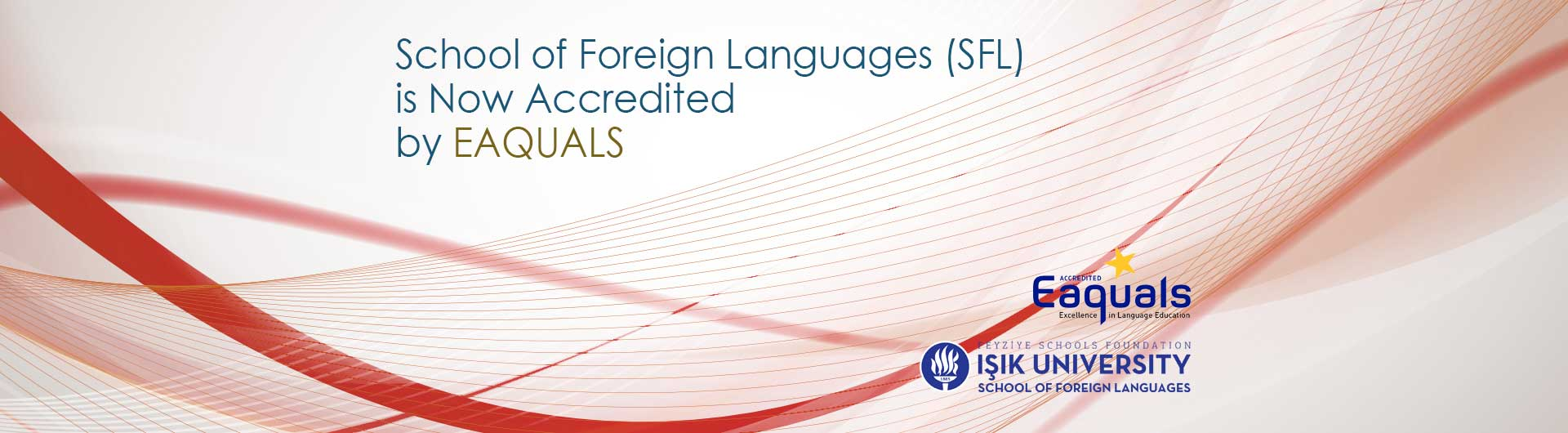 School of Foreign Languages (SFL) is Now Accredited by EAQUALS